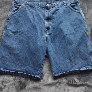 Mens denim shorts size 44